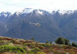 Luxmore Kepler Track Heli Hike with Fiordland Guided Tours