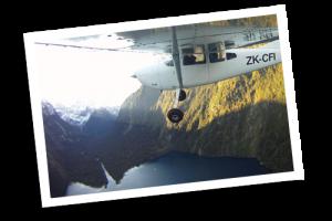 Milford Sound FLight Cruise-Coach Tour from Te Anau